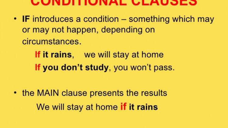 การใช้งาน IF – Clauses ในแบบต่างๆ