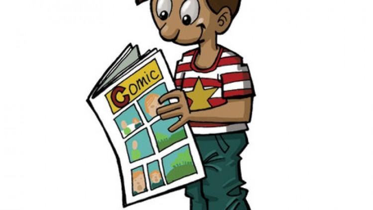 ตัวอย่างงานเขียนกรณีศึกษา Essay Topic: Reading comics