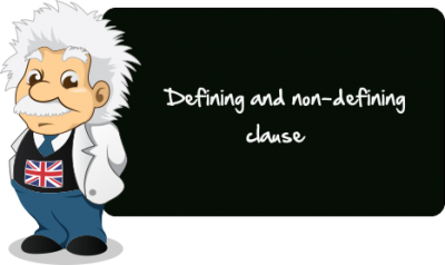 Defining and non defining