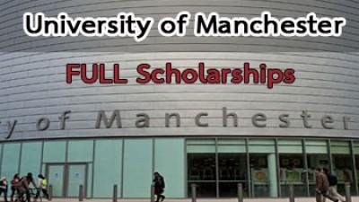 [ทุนเรียนต่อประเทศอังกฤษ] University of Manchester มอบทุนเรียนต่อปริญญาเอกที่สหราชอาณาจักร