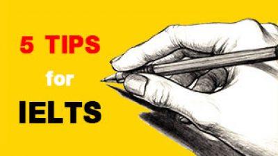 เทคนิค 5 ประการ ที่จะช่วยให้ IELTS Writing Task I ผ่านฉลุย